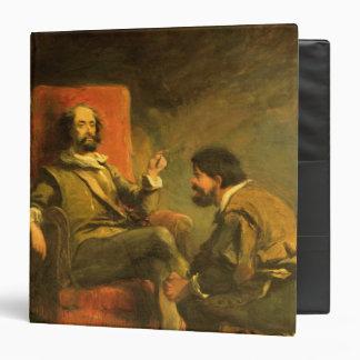 Don Quixote and Sancho Panza Binder