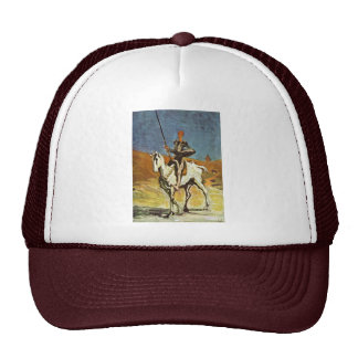 Don Quixote And Sancho Panza By Daumier Honoré (Be Trucker Hat
