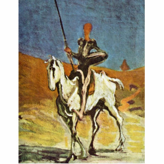 Don Quixote And Sancho Panza By Daumier Honoré (Be Photo Cut Outs