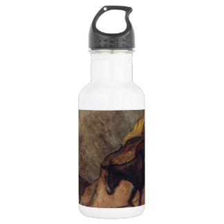 Don Quixote and Sancho Panza by Honoré Daumier 18oz Water Bottle