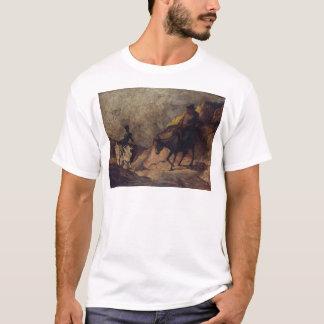 Don Quixote and Sancho Panza by Honoré Daumier T-Shirt