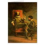 Don Quixote and Sancho Panza Cards
