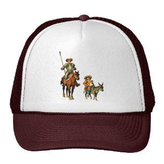 Don Quixote and Sancho Panza Trucker Hat