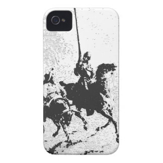 Don Quixote and Sancho Panza iPhone 4 Cases