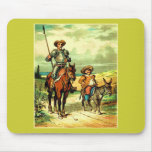 Don Quixote and Sancho Panza Mousepad