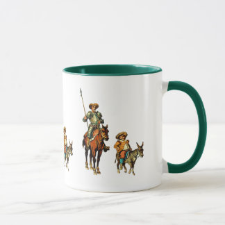 Don Quixote and Sancho Panza Mug