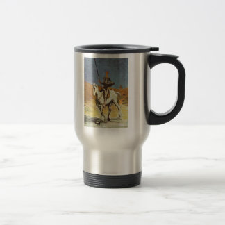 'Don Quixote and Sancho Panza' Travel Mug