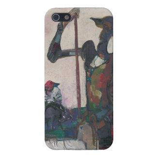 Don Quixote and Sancho Stanislav Stanek iPhone SE/5/5s Case
