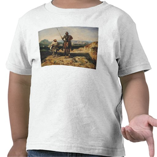 Don Quixote and Sancho T-shirts