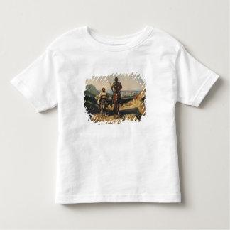 Don Quixote and Sancho Toddler T-shirt