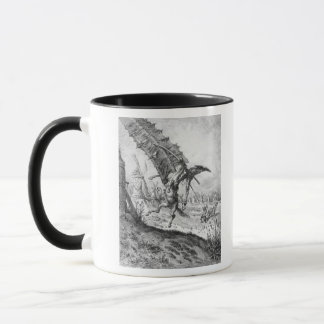 Don Quixote and the Windmills Mug