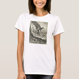 Don Quixote and the Windmills T-Shirt