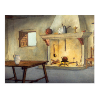 DON QUIXOTE- animation Background (1979) Postcard