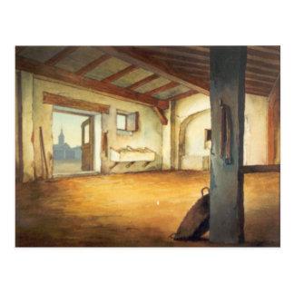 DON QUIXOTE-  animation Background (1979) Postcard