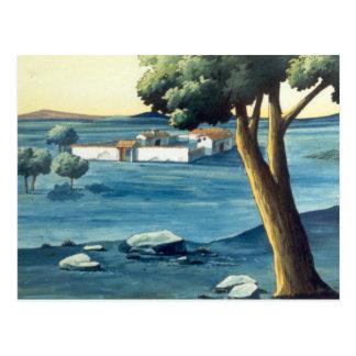 DON QUIXOTE-  Background (1979) - Tarjeta Postal Postcard