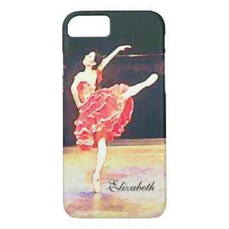Don Quixote Ballet Ballerina Personalized iPhone 8/7 Case