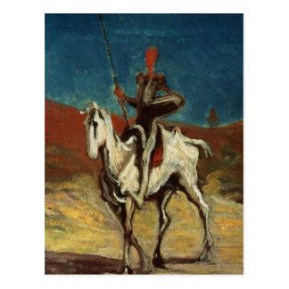 Don Quixote, c.1865-1870 Postcard
