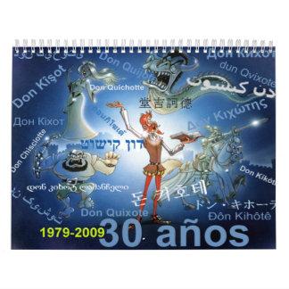 DON QUIXOTE - Calendar CALENDARIO
