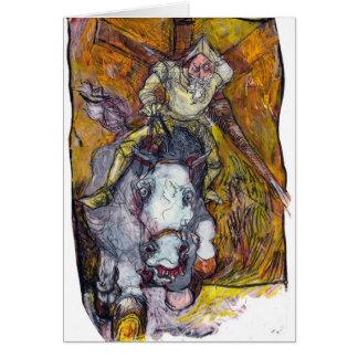 Don Quixote Card