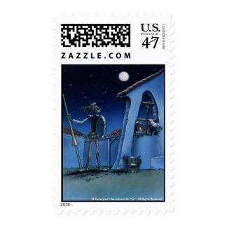 DON QUIXOTE- IVth. Centenary Postage sellos