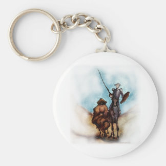 Don Quixote Key Chain