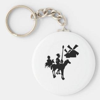 Don Quixote Keychain
