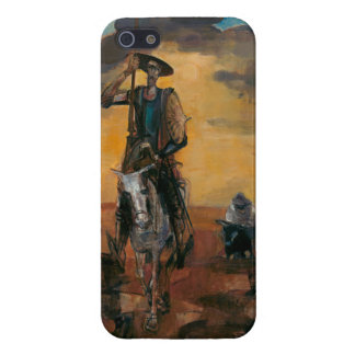 Don Quixote on the Way Stanislav Stanek Case For iPhone SE/5/5s