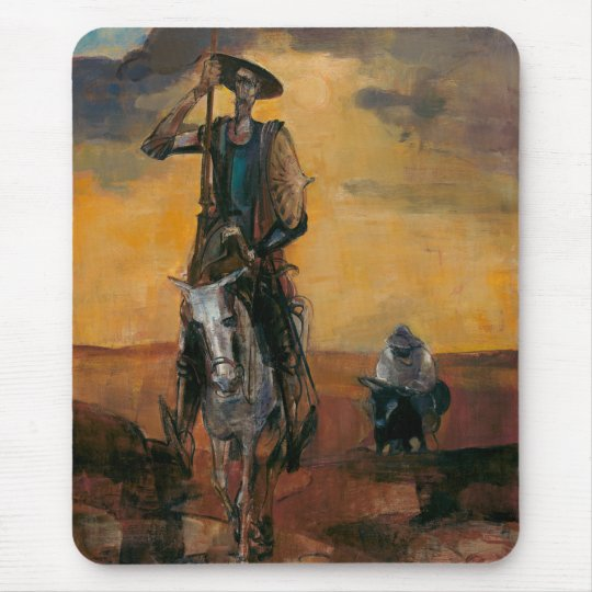 Don Quixote on the Way Stanislav Stanek Mouse Pad