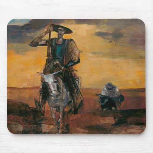 Don Quixote on the Way Stanislav Stanek Mousepad