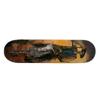 Don Quixote on the Way Stanislav Stanek Skateboard Deck