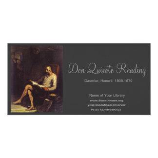 Don Quixote Reading Photo Cards