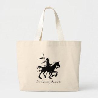 Don Quixote Rides Again Large Tote Bag