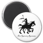 Don Quixote Rides Again Magnets