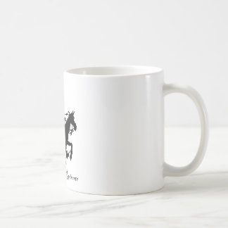 Don Quixote Rides Again Classic White Coffee Mug