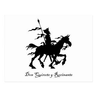 Don Quixote Rides Again Postcard