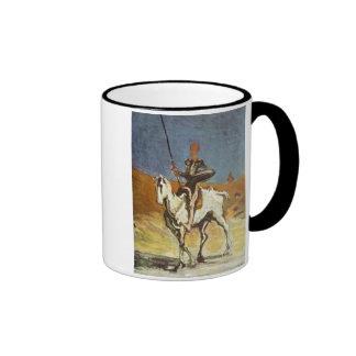 Don Quixote Ringer Mug