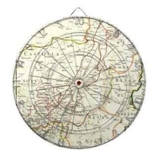 Don Quixote Rout Map Dartboard