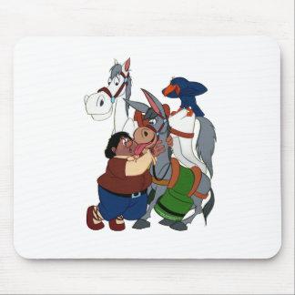 DON QUIXOTE' s FRIENDS - 400 years - Cervantes Mouse Pad