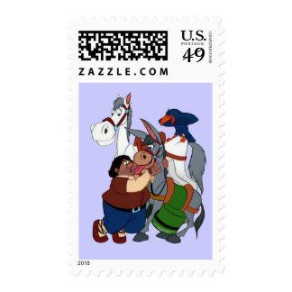 DON QUIXOTE' s FRIENDS - sellos - Cervantes Postage Stamp