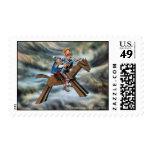 DON QUIXOTE & SANCHO - Centenary Postage sellos
