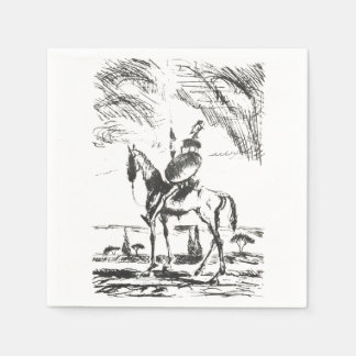 Don Quixote Disposable Napkins
