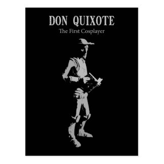 Don Quixote - The First Cosplayer Postcard