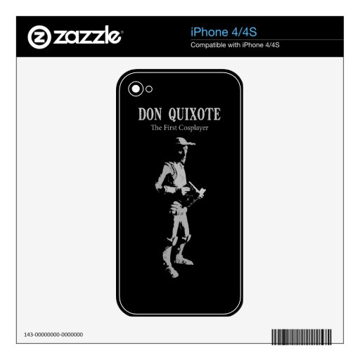 Don Quixote - The First Cosplayer Skins For iPhone 4