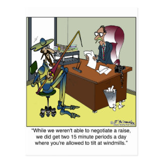 Don Quixote Today Post Card