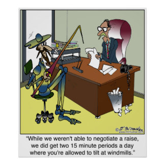 Don Quixote Today Poster