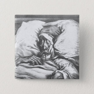 Don Quixote wounded Button