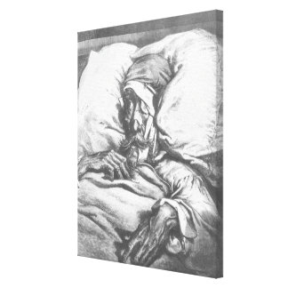 Don Quixote wounded Canvas Print