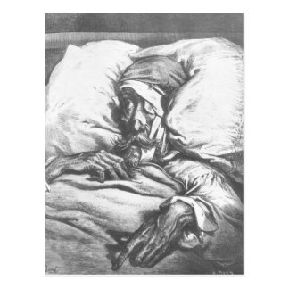 Don Quixote wounded Postcard