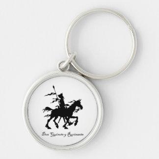 Don Quixote y Rocinante Key Chain