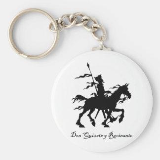 Don Quixote y Rocinante Keychain